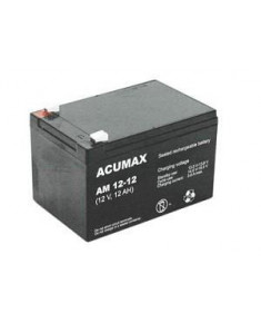 BATTERY 12V 12AH VRLA/AM12-12 ACUMAX EMU