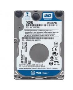 """HDD WESTERN DIGITAL Blue 500GB SATA 3.0 16 MB 5400 rpm 2,5"""" Thickness 7mm WD5000LPCX"""