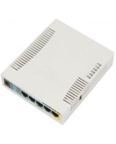 Access Point|MIKROTIK|IEEE 802.11b|IEEE 802.11g|IEEE 802.11n|1xUSB 2.0|5x10/100M|RB951UI-2HND
