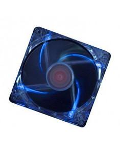 CASE FAN 120MM TRANSP 3PIN+4P/BLUE XF044 XILENCE