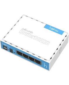 Access Point|MIKROTIK|IEEE 802.11 b/g|IEEE 802.11n|4x10Base-T / 100Base-TX|RB941-2ND