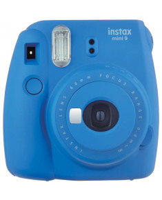 CAMERA INSTANT W/10SH GLOSSY/INSTAX MINI 9 C.BLUE FUJIFILM