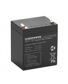 BATTERY 12V 5.3AH VRLA/EV5.8-12 T2 EUROPOWER EMU