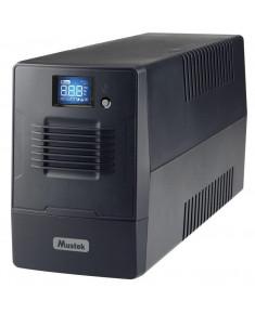 UPS MUSTEK 360 Watts 600 VA Wave form type Simulated sinewave LineInteractive 600-LCD-LI-T10