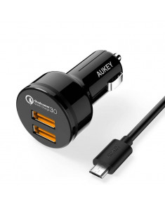 MOBILE CHARGER CAR CC-T8 RTL/QUICK CHARGE LLTS65484 AUKEY
