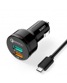 MOBILE CHARGER CAR CC-T7 RTL/2PORT LLTS65574 AUKEY