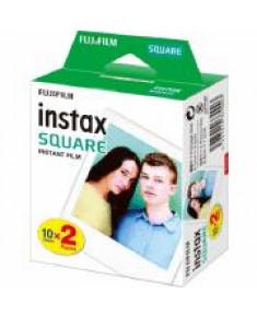 FILM INSTANT COLOR INSTAX/SQUARE GLOSSY 2X10PK FUJIFILM