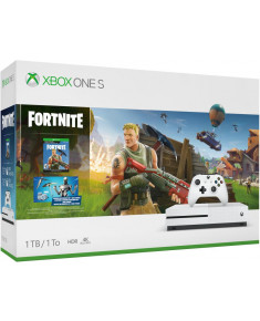 CONSOLE XBOX ONE S 1TB WHITE/FORTNITE 234-00711 MICROSOFT