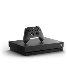 CONSOLE XBOX ONE X 1TB/(UNBOXED) BLACK MICROSOFT