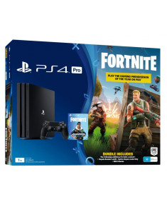 PLAYSTATION 4 CONSOLE 1TB PRO/BLACK FORTNITE SONY