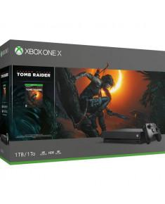 CONSOLE XBOX ONE X 1TB BLACK/GAME SH. TOMB RIDER MICROSOFT