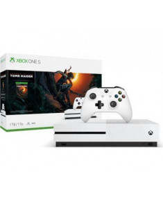 CONSOLE XBOX ONE X 1TB BLACK/GAME SH. TOMB RIDER MICROSOFT