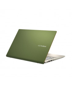 "Notebook|ASUS|VivoBook Series|S431FA-EB032T|CPU i5-8265U|1600 MHz|14""|1920x1080|RAM 8GB|SSD 256GB|Intel UHD Graphics 620|Integrated|ENG|Windows 10 Home|Green|1.4 kg|90NB0LR5-M00730"