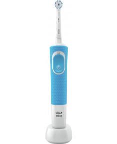 ELECTRIC TOOTHBRUSH/D 100.413.1 BLUE BRAUN
