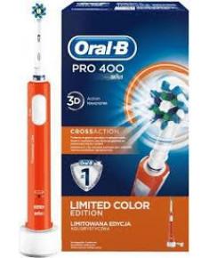 ELECTRIC TOOTHBRUSH/ORANGE D 16.513 PRO400 BRAUN