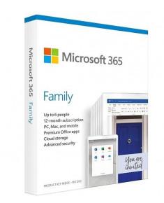 SW RET MICROSOFT 365 FAMILY/ENG 1Y P6 6GQ-01150 MS