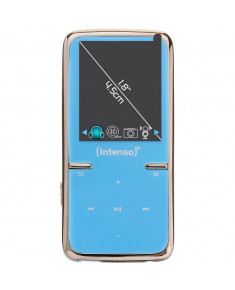 MP3 PLAYER 8GB BLUE/3717464 INTENSO