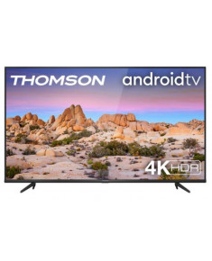 "TV Set|THOMSON|50""|4K/Smart|3840x2160|Wireless LAN|Bluetooth|Android|Black|50UG6400"