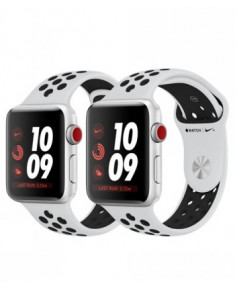 APPLE WATCH SER.3 NIKE+ 38MM, BAND PLATINUM BLACK