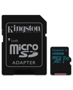128GB MICROSDXC CANVAS GO! CLASS 10 UHS-I U3 + SD ADAPTER