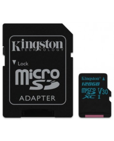 128GB MICROSDXC CANVAS GO! CLASS 10 UHS-I U3  + SD ADAPTER