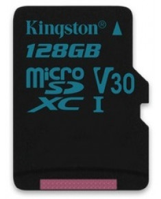 128GB MICROSDXC CANVAS GO! CLASS 10 UHS-I U3  SINGLE PACK W/O ADAPTER