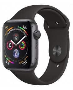 APPLE WATCH SER.4 40MM GREY, BAND BLACK