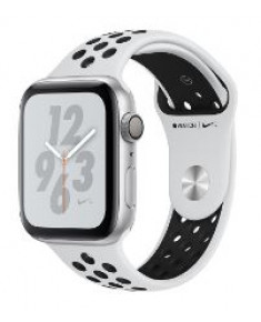 APPLE WATCH SER.4 NIKE+ 44MM SILVER, BAND BLACK