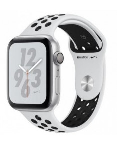 APPLE WATCH SER.4 NIKE+ 40MM SILVER, BAND BLACK