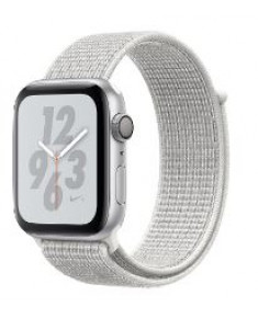 APPLE WATCH SER.4 NIKE+ 44MM SILVER, LOOP WHITE