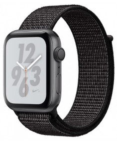APPLE WATCH SER.4 NIKE+ 40MM GRAY, LOOP BLACK