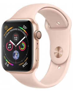 APPLE WATCH SER.4 40MM GOLD, BAND PINK