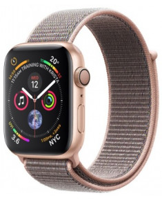 APPLE WATCH SER.4 44MM GOLD, LOOP PINK