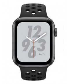 APPLE WATCH SER.4 NIKE+ 44MM GRAY, BAND BLACK