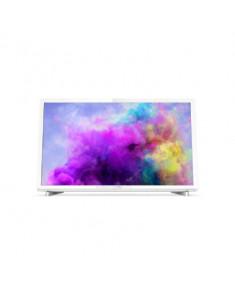 """Philips LED TV 22"""" 24PFS5603/12 FHD 1920x1080p PPI-200Hz 2xHDMI/VGA USB(AVI/MKV) DVB-T/T2/T2-HD/C/S/S2, 6W, C:White"""