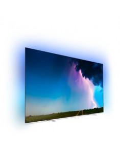 55OLED754  PHILIPS Slim 4K UHD OLED SAPHI SMARTTV TV Ambilight 4500 Picture Performance Index
