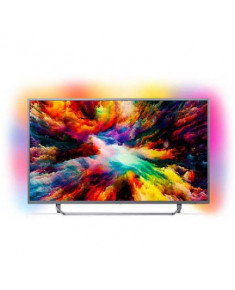 """Philips Android™ Ambilight LED TV 55"""" 55PUS7303/12 UHD 3840x2160p PPI-1600Hz HDR+ 4xHDMI 2xUSB LAN WiFi DVB-T/T2/T2-HD/C/S/S2, 20W"""