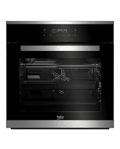 BEKO Oven BIM25402XMS 60 cm, A+, Black color glass/inox details