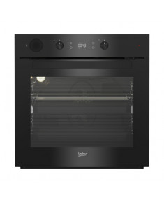 BEKO Oven BIS14300BPS 60 cm PYROLYTIC function, Steam Assisted, 9 functions, Black color