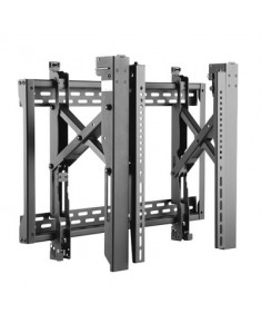 "ErgoFount 45""-70"" Pop-out Landscape Video Wall Mount, VESA 200x200-400x600, up to 70kg, c: Black"