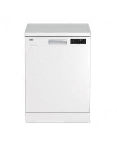 BEKO Dishwasher DFN26422W, Energy class E (old A++), 60 cm, Freestanding, Inverter motor, Aquaintense, White