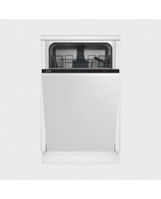 BEKO Built-In Dishwasher DIS26021 A++, 45 cm, Adjustable third basket, 6 programs, Inverter motor, Led Spot