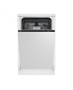 BEKO Dishwasher DIS28120 A++, 45 cm, Adjustable third basket, Aqualntense, 8 programs, Inverter motor, Led Spot