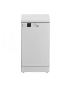 BEKO Free standing Dishwasher DVS05024W, Energy class E (old A++), 45 cm, 5 programs, White