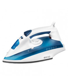 ECG ECGNZ322AutoOff Iron, 2200w, plastic, White/blue