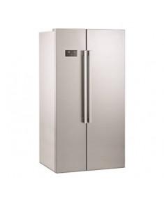BEKO Side by Side Refrigerator GN163130SN, Energy class F (old A+), Height 179cm, Width 91cm, HarvestFresh, Neo Frost, Inverter motor, Fast Freeze, Inox