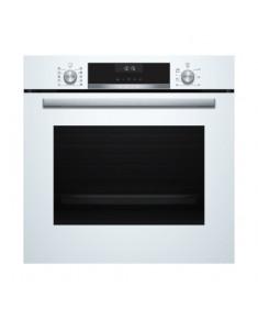 BOSCH Oven HBT517CW0S 60 cm, A, 3D hot air system, Thermometer, AutoPilot10, White