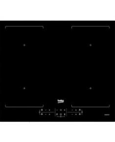 BEKO Hob HII64201F2HT 60 cm, INDUCTION Electric, 2 sides INDYFLEX zones, Black color