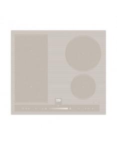 BEKO Hob HII64500FHTG 60 cm, INDUCTION Electric, Sand color, INDYFLEX zone