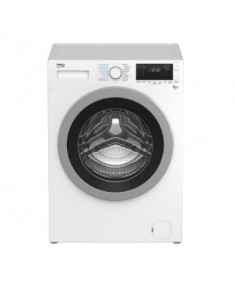 BEKO Washing machine-dryer HTV8733XS0 A, 1400 aps./min, 8 KG + 5 KG, 16 programs, big led screen
